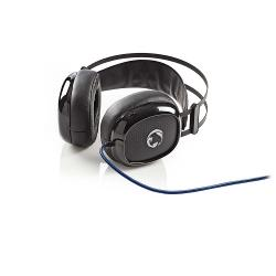 Nedis GHST300BK Gamingheadset | Over-ear | Ultra-Bass | LED-verlichting | 3,5-mm & USB-connectoren