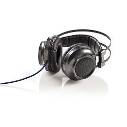 Nedis GHST400BK Gamingheadset | Over-ear | Kracht-feedback | LED-verlichting | 3,5-mm & USB-connectoren