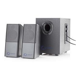 Nedis GSPR10021BK Gaming-luidsprekers | 2.1 | Over USB gevoed | 3,5 mm jack | RMS 11W