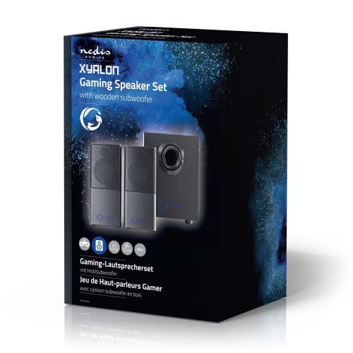 Nedis GSPR10021BK Gaming-luidsprekers   2.1   Over USB gevoed   3,5 mm jack   RMS 11W