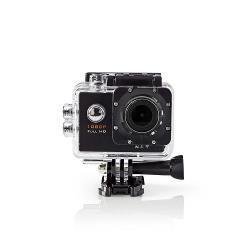 Nedis ACAM20BK Actioncam | Full-HD 1080p | Wi-Fi | Waterdichte behuizing