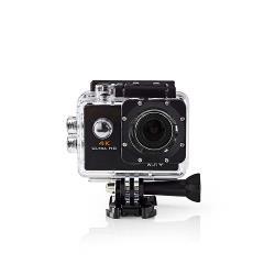 Nedis ACAM40BK Actioncam | Ultra-HD 4K | Wi-Fi | Waterdichte behuizing