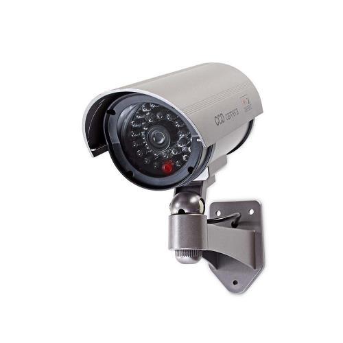 Nedis DUMCB40GY Dummy beveiligingscamera   Bullet   IP44   Grijs