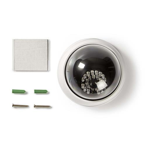 Nedis DUMCD20WT Dummy beveiligingscamera | Dome | IP44 | Wit