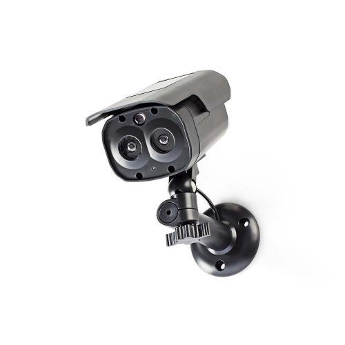 Nedis DUMCBS30BK Dummy beveiligingscamera   Bullet   IP44   Zwart