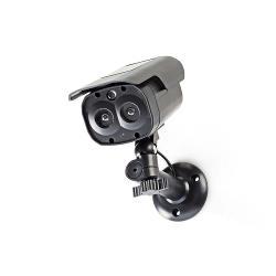 Nedis DUMCBS30BK Dummy beveiligingscamera | Bullet | IP44 | Zwart