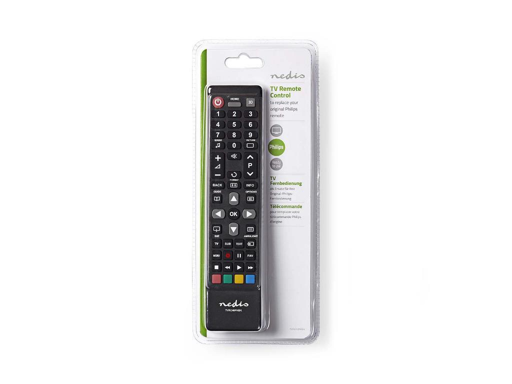 Philips Licht Afstandsbediening : Nedis tvrc40phbk vervangende afstandsbediening philips tv klaar