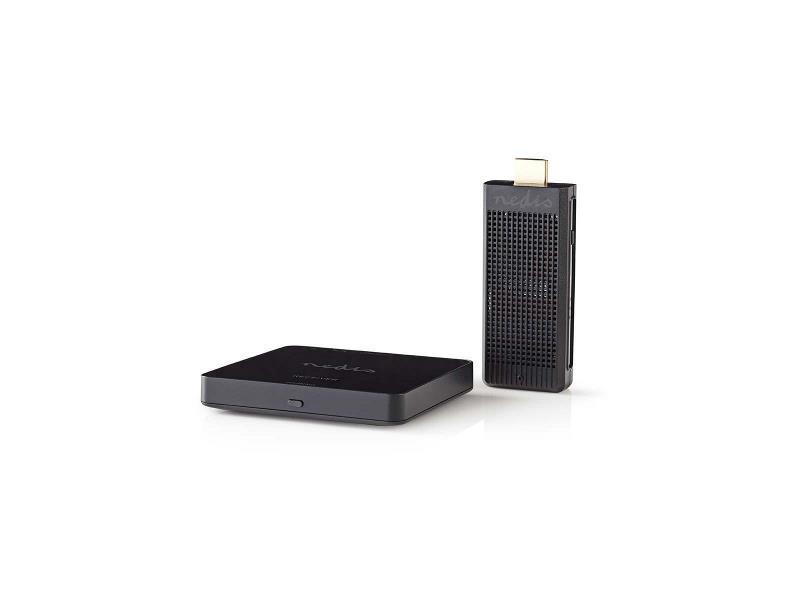 Nedis VTRA3411BK Draadloze HDMI-zender   1080p   5 GHz   30 m   Draagbare dongle
