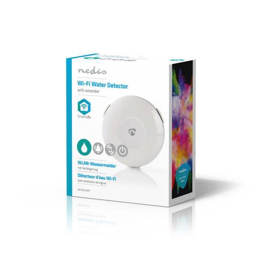 Nedis WIFIDW10WT Wi-Fi smart waterlekkagedetector   Batterijgevoed
