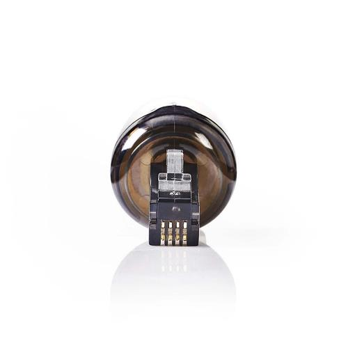 Nedis TCGP90950BK Anti-Twist Telecom-Adapter | RJ10 Male - RJ10 Female | Zwart