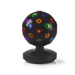 Nedis FUDI213BK Multicolour Discobal | 6 W | 550 lm | 20 cm