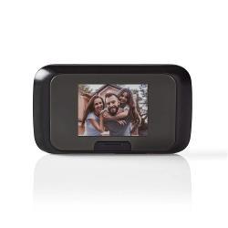 "Nedis DOORS10BK Videodeurspion | 2,8"" Kleuren-LCD | Foto/Video-Opname | Stand-Alone"