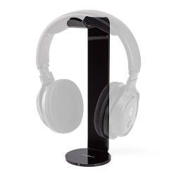 Nedis HPST100BK Koptelefoonstandaard | 87 x 244 mm | Zwart
