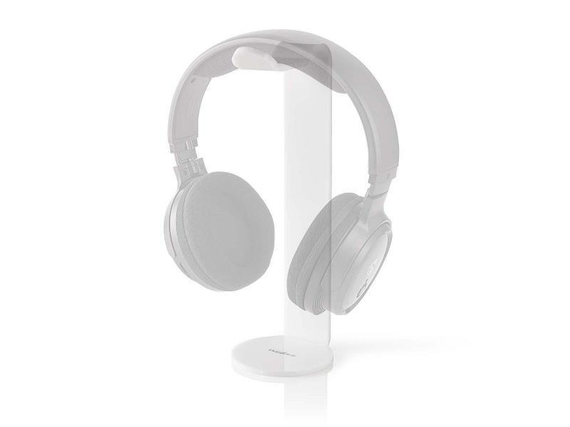 Nedis HPST100WT Koptelefoonstandaard | 87 x 244 mm | Wit