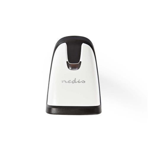 Nedis BCSRLR100BK Laserbarcodescanner | 1D Lineair | USB 2.0 | Grijs/Zwart