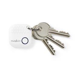 Nedis TRCKBT30WT Bluetooth®-Tracker | Werkt tot 50,0 m | Met Bewegingsdetectie | Wit