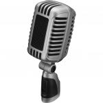 IMG Stage line DM-101 Retro grijze dynamische microfoon