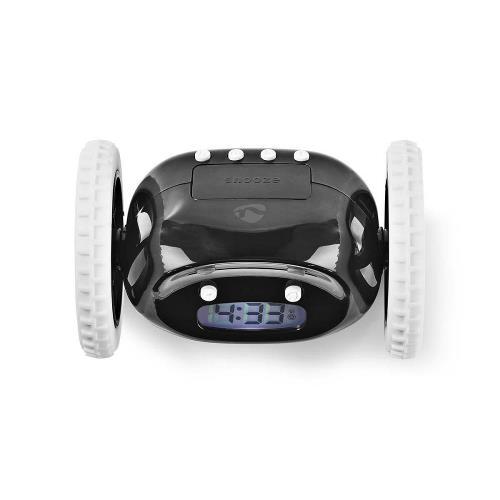 Nedis CLAL110BK Multifunctionele Wekker Digitaal Zwart/Wit