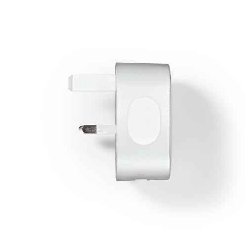 Nedis WCHAU240AWTUK Thuislader | 2,4 A | USB | Wit