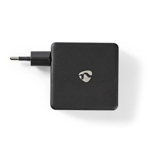 Nedis WCPD45W100BK Thuislader   3,0 A   USB / USB-CT   Voeding: 45 W   Zwart