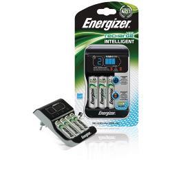 Energizer 635026 Intelligent lader, Euro stekker, + 4x HR6 2000mAh
