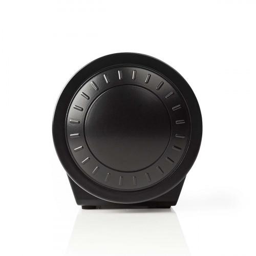 Nedis CLAR005BK Digitale Wekkerradio met Display LED van 0,9 FM Dubbel alarm Sluimeren zijkant