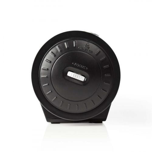 Nedis CLAR005BK Digitale Wekkerradio met Display LED van 0,9 FM Dubbel alarm Sluimeren zijkant 2