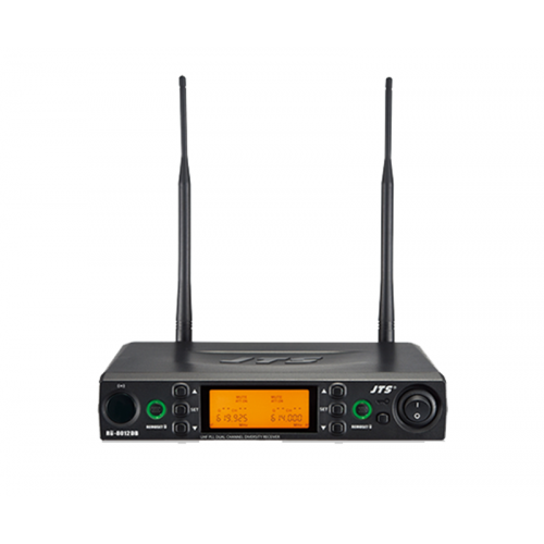 JTS RU-8012DB 2-kanaals draadloze microfoon ontvanger