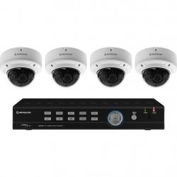 Monacor AXZ-408DVM cameraset met recorder en 4x zoombare camera's