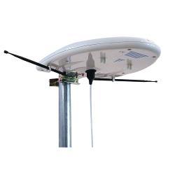 F1861007 DVB-T/T2 - DAB Versterkte Buitenantenne 20 dB FM / VHF / UHF