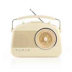 Nedis RDFM5000BG FM-radio | 4,5 W | Draaggreep | | Ivoor