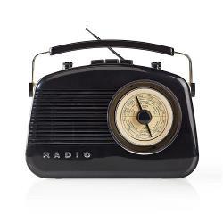 Nedis RDFM5010BK FM-radio | 5,4 W | Bluetooth® | Draaggreep | Zwart