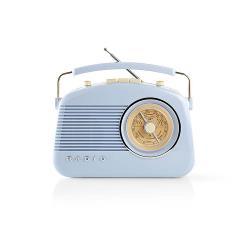 Nedis RDFM5000BU FM-radio | 4,5 W | Draaggreep | | Blauw