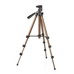 Nedis TPOD2000BZ Driepoot | Pannen en kantelen | Max. 1,5 kg | 105 cm | Zwart / zilver