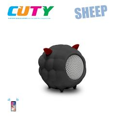 Idance speakers Cuty sheep black Idance speakers cuty sheep black (1)