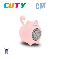 Idance speakers Cuty cat pink Idance speakers cuty cat pink (1)