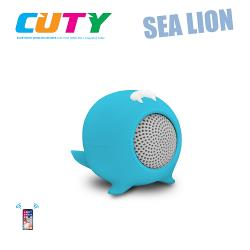 Idance speakers Cuty sealion blue Idance speakers cuty sealion blue (1)