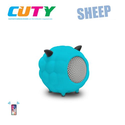 Idance speakers Cuty sheep blue Idance speakers cuty sheep blue (1)