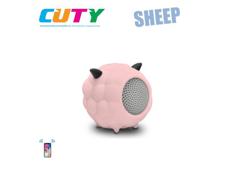 Idance speakers Cuty sheep pink Idance speakers cuty sheep pink (1)