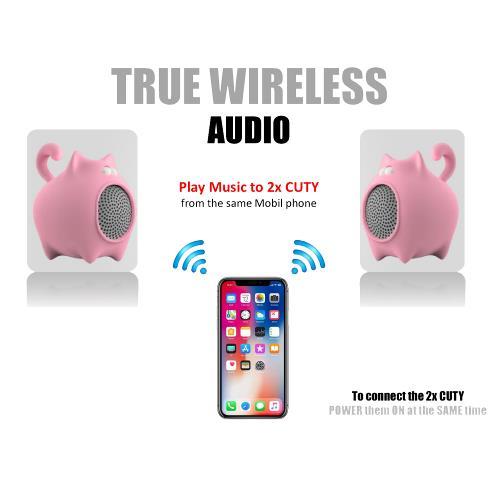 Idance speakers Cuty sheep pink Idance speakers cuty sheep pink (4)