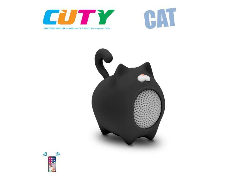Idance speakers Cuty cat black Idance speakers cuty cat black (1)