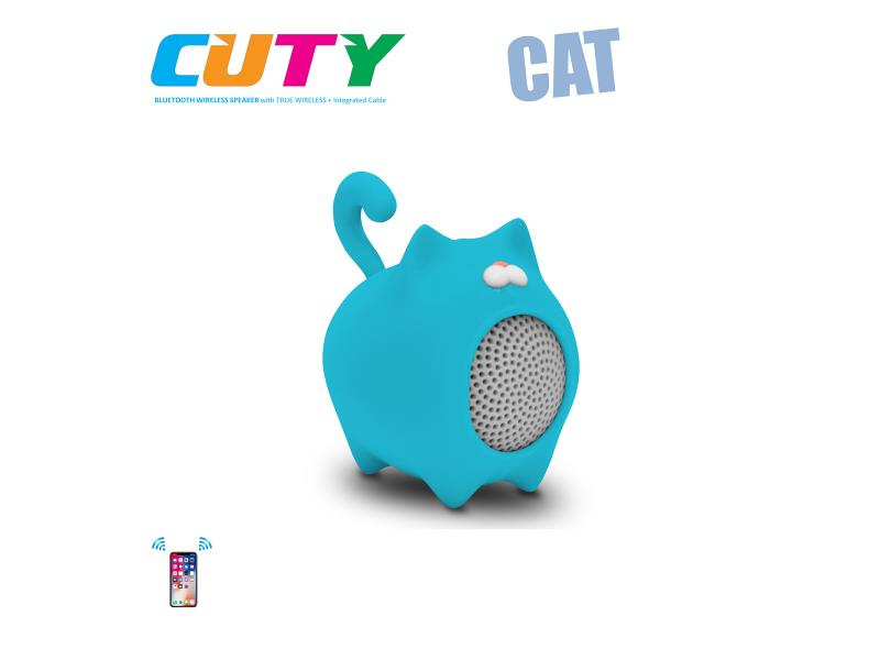 Idance speakers Cuty cat blue Idance speakers cuty cat blue (1)