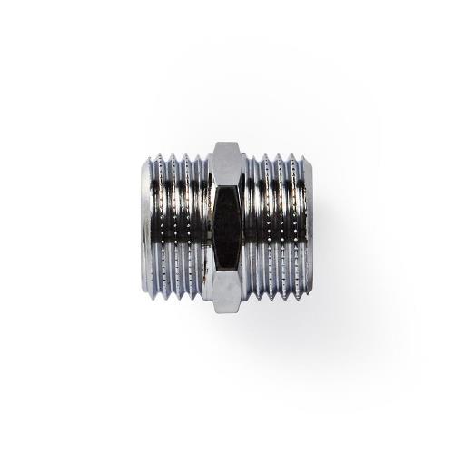 Nedis WAHA1212 Slangadapter | 1/2'' Recht - 1/2'' Recht