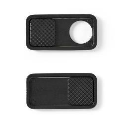 Nedis PRIVWCC15BK3 Privacy-cover | Voor notebooks en tablets | Snel aan te brengen | 3-pack | Zwart