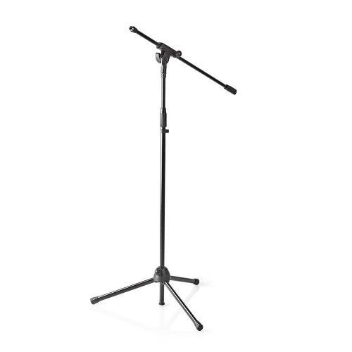 Nedis MPST10BK Microfoonstandaard | Max. 1 kg | Zwart