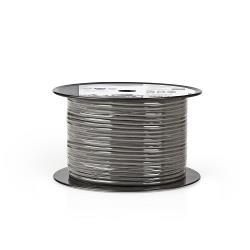 Nedis COTR15020GY100 DMX-Kabel 110 Ohm   4x 0,12 mm²   100 m   Rol   Grijs
