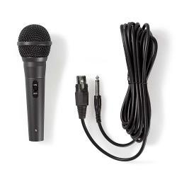 Nedis MPWD40BK Bedrade Microfoon | Gevoeligheid -72 dB +/-3 dB | 80 Hz - 14 kHz | 5,0 m