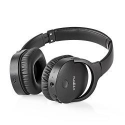 HPBT2260BK Draadloze hoofdtelefoon Bluetooth Over-ear Actieve ruisonderdrukking ANC Zwart