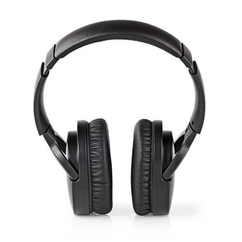 Nedis HPBT2260BK Draadloze hoofdtelefoon | Bluetooth® | Over-ear | Actieve ruisonderdrukking (ANC) | Zwart