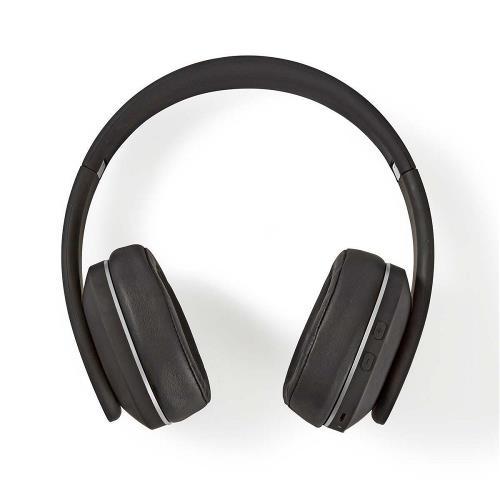 Nedis HPBT3260BK Draadloze hoofdtelefoon | Bluetooth® | Over-ear | Actieve ruisonderdrukking (ANC) | Zwart